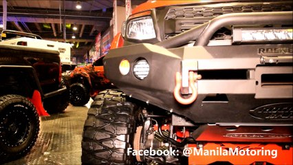 2015 Orange Ford Ranger T6 Chassis Off-road modification and accessories