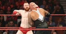 Sheamus & Cesaro Vs Luke Gallows & Karl Anderson Tag Team Match For WWE Tag Team Championship At WWE Raw