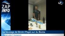 Zap : le bizutage de Dimitri Payet !