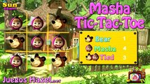 Masha and the Bear Tic Tac Toc - Masha and the Bear Games - HD