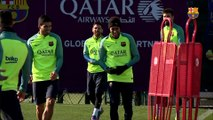 FC Barcelona training session: Final training session before Athletic clash