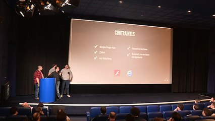 Paris Video Tech #3: Talks by M6Web, Cyril Concolato (CMAF) & France Télévisions