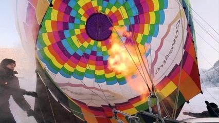 Nacht der Ballone Gosau - Start  Covestro Ballon