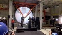Le Roi Philippe a assisté à l'inauguration du JVD d'ArcelorMittal à Kessales.