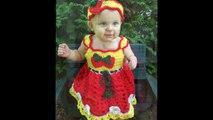 Cute Looking Babies Wearing Crochet Frock Designs-nr6ZEQV8xYw