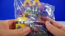 новый Миньоны кино Макдональдс Хэппи мил игрушки Обзор говорящий Миньоны фильм игрушки Стюарт #3 видео