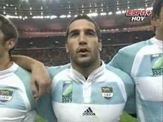 Los Pumas - Himno Argentino vs. Francia