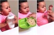 RARE : un bébé qui sait ce qu'il veut !