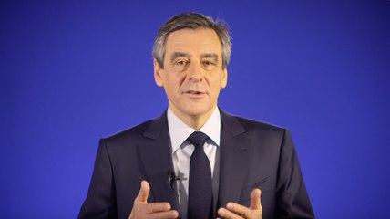 Message de François Fillon à ses soutiens
