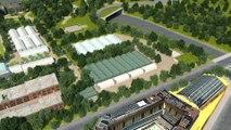 Modernisation Roland-Garros - Court du Jardin des Serres