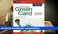 [PDF]  How to Get a Green Card Ilona Bray Full Book