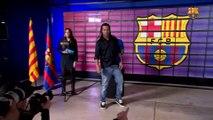 Ronaldinho is now the new FC Barcelona ambassador