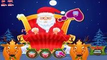 NEW Игры для детей—Дед Мороз в спа салоне—новогодний мультик для девочек и мальчиков