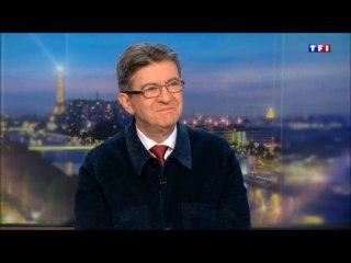 Jean-Luc Mélenchon invité au Journal de 20h de TF1 le 03/02/2017