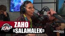 Zaho Salamalek en live #PlanèteRap