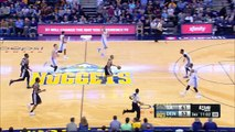 Tony Parker Spins And Lays It In | Spurs vs Nuggets | January 5, 2017 | 2016 17 NBA Season