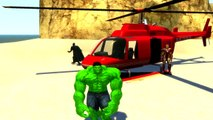 Wheels On The Bus Go Round And Round + Spiderman Hulk | Nursery Rhymes for Children Kids Songs