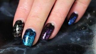 Du stamping avec des poudres miroirs ! - Nail art is Easy-Qa3GhoAxT5E