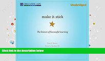Audiobook  Make It Stick: The Science of Successful Learning Pre Order