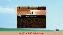 Team Fan Gear Fanmats NHL  Chicago Blackhawks Drink Mat 325x24 NHL14061 32275ef5