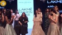 Diana Penty Walks Ramp For Designer Payal Singhal At LFW Summer 2017