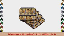 Lee Hiller Designs General Themes  Egyptian Hieroglyphics  set of 8 Ceramic Tile 77dfd18c