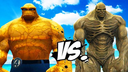 THE THING VS ABOMINATION - EPIC BATTLE