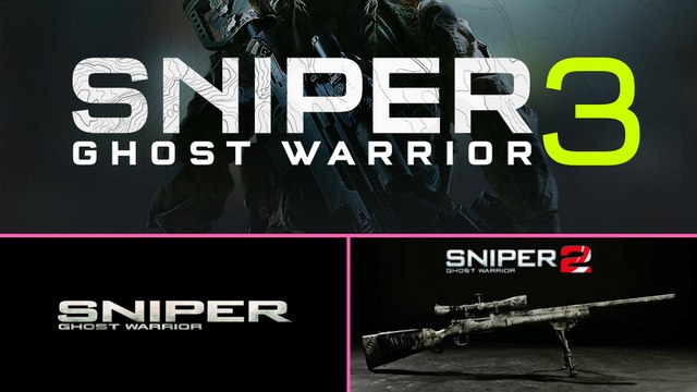 Sniper Ghost Warrior (2010) vs. Sniper  Ghost Warrior 2 (2013) vs. Sniper Ghost Warrior 3 Beta 2017