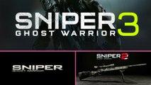 Sniper Ghost Warrior (2010) vs. Sniper  Ghost Warrior 2 (2013) vs. Sniper Ghost Warrior 3 Beta 2017
