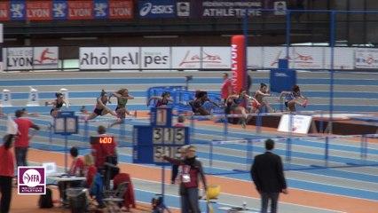 CF Espoirs : Finale 60 m haies Femmes
