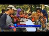 NET5 - Belajar biola gratis di Taman oleh Komunitas Biola Medan