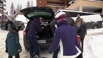 Hautes-Alpes : Les vacanciers ont investi la station de Risoul sous la neige et avec le sourire