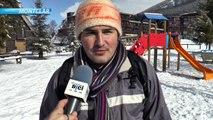 Hautes-Alpes : Ambiance familiale sous la neige à la station de Montclar