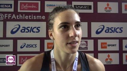 Laura Valette : « Satisfaite de la finale »