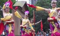 Parramatta Lunar New Year 2017 Part 4 of 13HD, Sydney Chinese Dance, Shaanxi Art Group, Circle Culture, Song Min Sun Korean Aust Elite Cultural, Sydney 3 Feb 2017