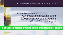 {[PDF] (DOWNLOAD)|READ BOOK|GET THE BOOK Essentials of Organization Development and Change FREE