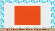 Rachael Ray Stoneware 2Piece Set Round Bubble  Brown 12Ounce Au Gratins Orange 9e415540