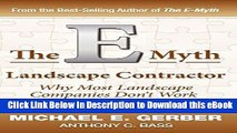 {[PDF] (DOWNLOAD)|READ BOOK|GET THE BOOK The E-Myth Landscape Contractor FULL EBOOK