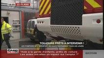 Les pompiers de l'aéroport de Lille Lesquin