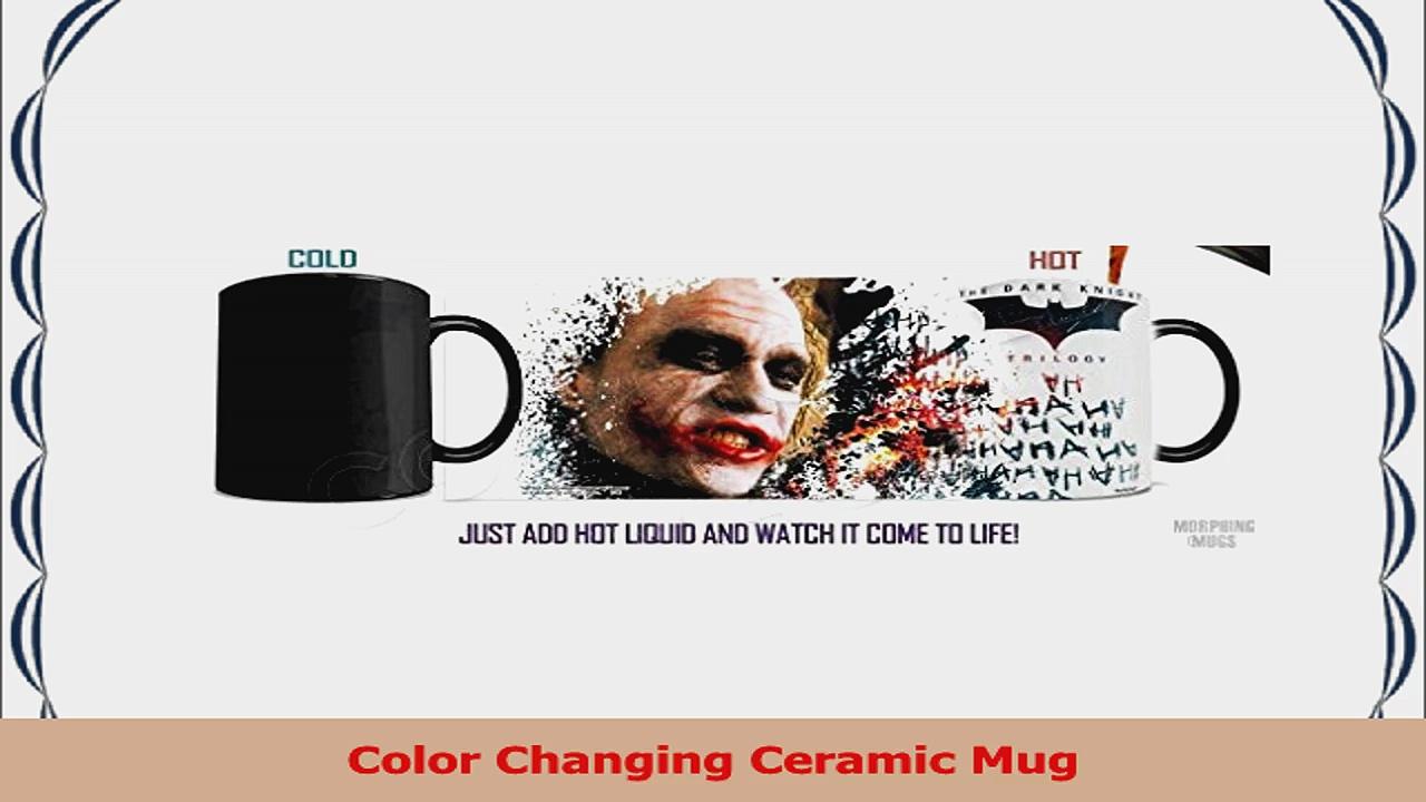 Morphing Mugs Batman Dark Knight Trilogy Joker Ceramic Mug Black 31f2e917