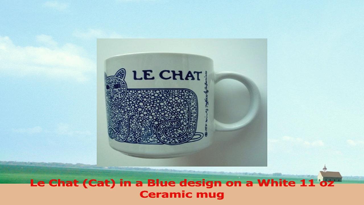 French Chat Cat Mug 81f1e0ea
