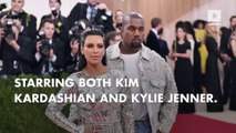 Kim K and Kylie Jenner star in Tyga, Kanye West music video