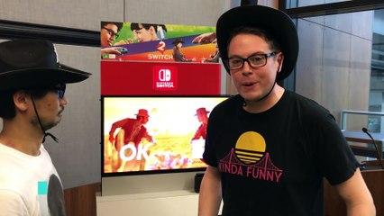Hideo Kojima Plays Nintendo Switch  de 1 2 Switch