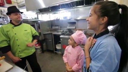 Chiqui Chef y Kamyla: Visita a la Cocina de Toro Verde