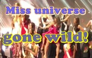 SHOCKING (OMG) - Miss Universe Gone Wild - Netherlands turn it up #singleladies #beyonce #beyhive