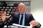 "Eric Bartecheky après Elan Béarnais - Elan Chalon : ""26 passes, 5 ballons perdus"""