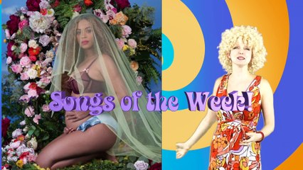 5th Feb 17 songs of week Beyonce Trumpitus & more by The Singing Psychic