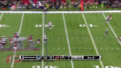 Austin Hooper anota o segundo touchdown do Falcons no Super Bowl LI!
