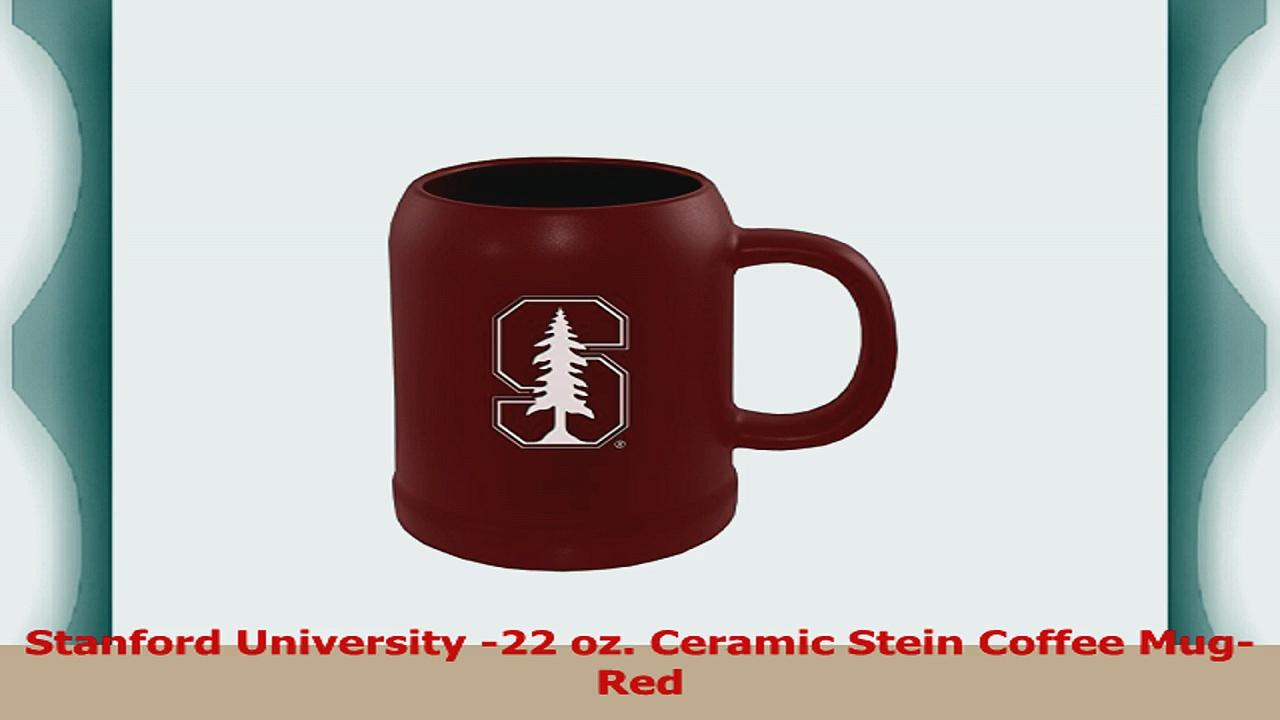 Stanford University 22 oz Ceramic Stein Coffee MugRed 4bb93905