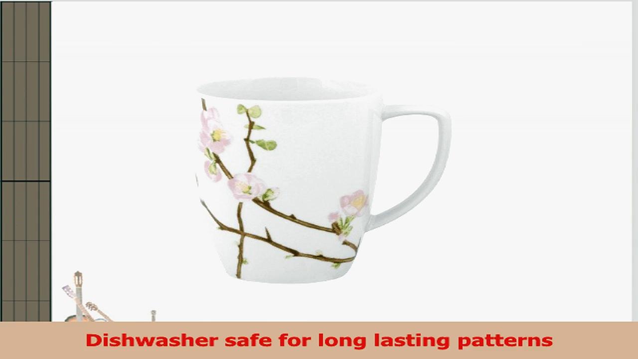 Corelle Square 12Ounce Porcelain Mug Cherry Blossom aafd161e